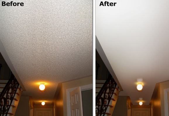 How To Repair Popcorn Ceiling Ideas